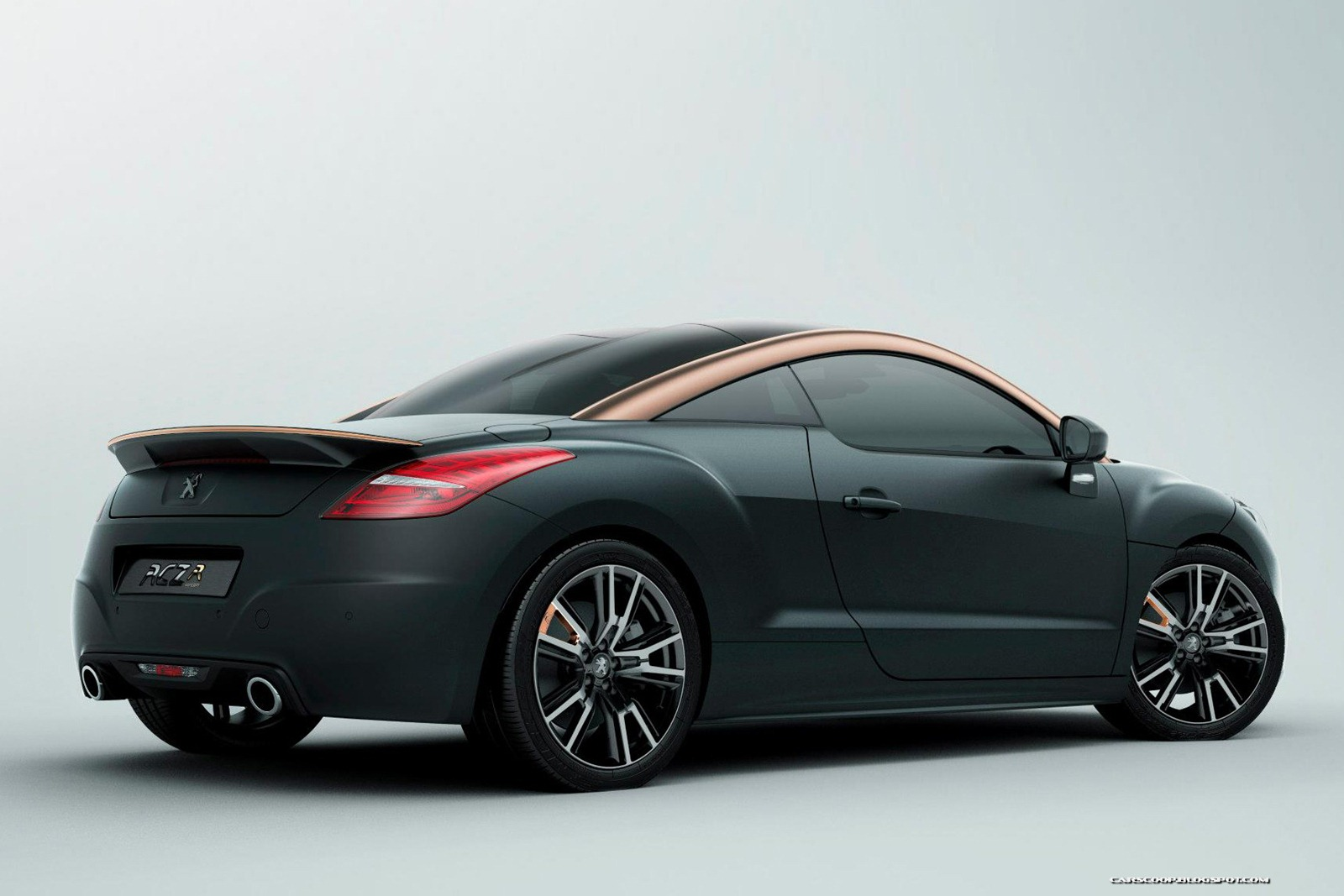 nuevo peugeot rcz y rcz r concept auto blog. Black Bedroom Furniture Sets. Home Design Ideas