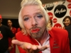 Richard Branson Air Asia Stewardess