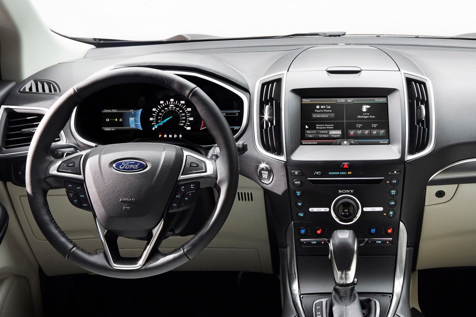 ford edge 2015 m s tecnolog a y mejores looks auto blog
