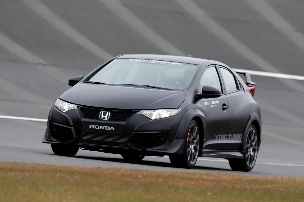 Honda Civic Type R 2015 Development Car  Auto-Blog