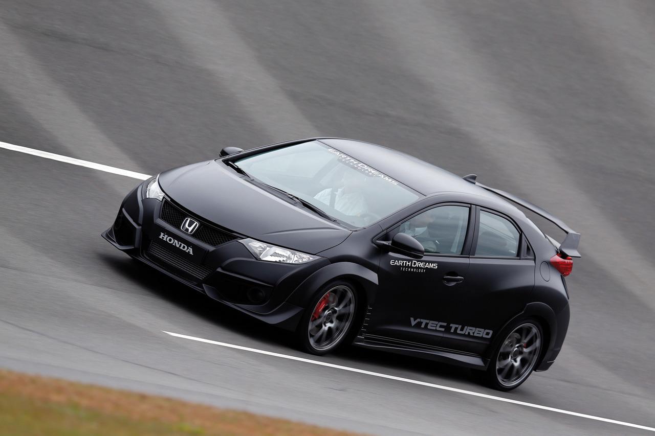 Honda Civic Type R 2015 Development Car
