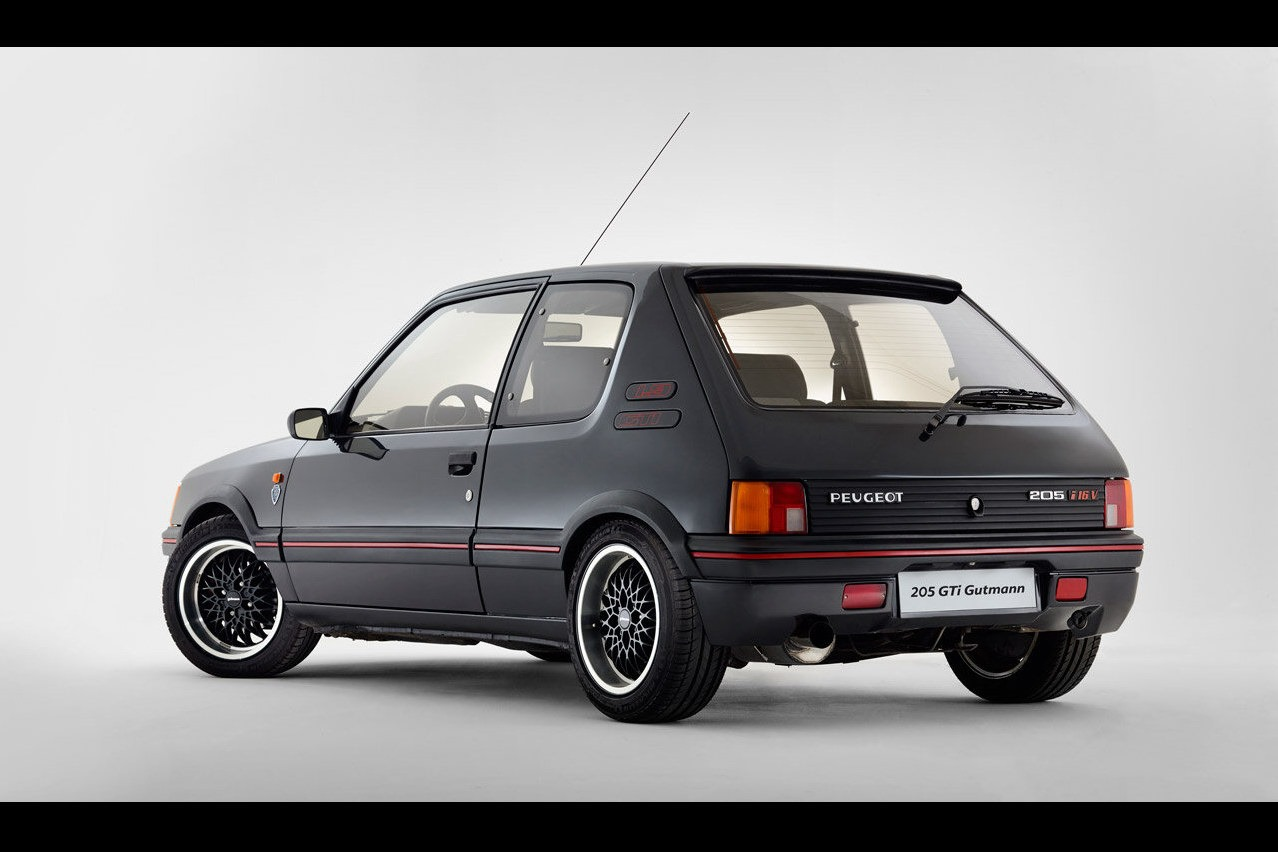 peugeot 205 gti 1 9 gutmann auto blog. Black Bedroom Furniture Sets. Home Design Ideas