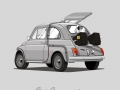 Fiat 500 Back To The Future