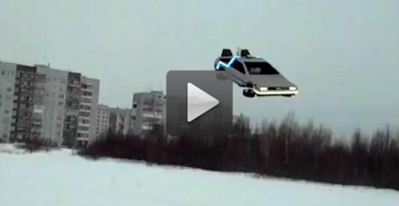 DeLorean volador – El mejor juguete a control remoto para un Auto-Entusiasta