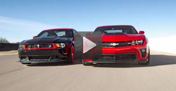 American Muscle: Ford Mustang Boss 302 Laguna Seca vs Camaro ZL1
