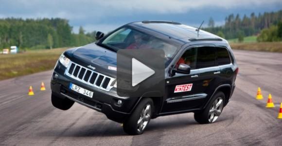 Jeep Grand Cherokee mortal en maniobras evasivas