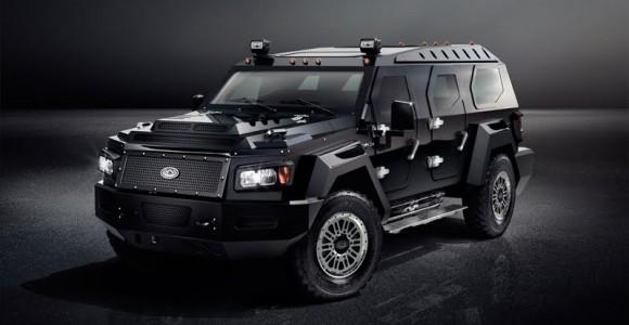 Una SUV que parece camioneta de valores y cuesta U$580 mil