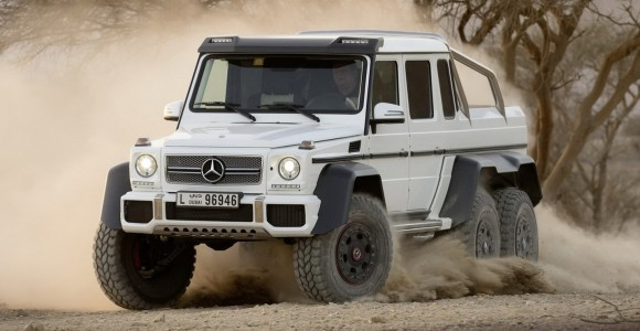 Mercedes-Benz G63 AMG 6×6 – porque el 4×4 es para amateurs