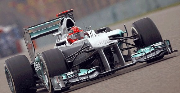 Schumacher China 2012