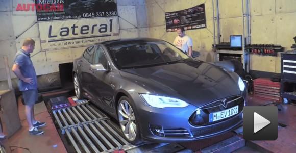 ¿Cuántos caballos de fuerza produce el Tesla Model S?