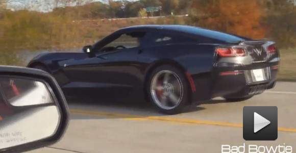 Arrancones: Corvette Stingray vs Mustang Shelby GT500