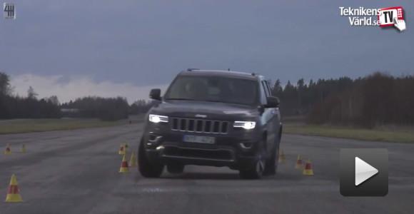 La nueva Jeep Gran Cherokee vuelve a hacer la prueba del alce