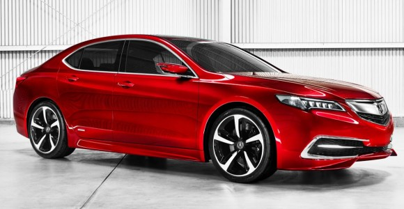 The 2015 Acura TLX Prototype.