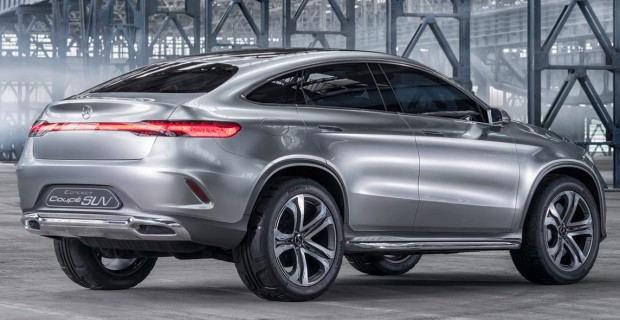 Concept Coupé SUV; 2014; colour: ALU-BEAM silver