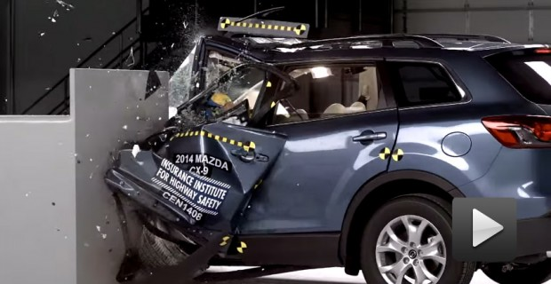 IIHS Small Overlap CX-9