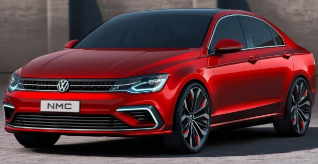 Volkswagen New Midsize Coupè – ni tan mediano, ni tan coupè