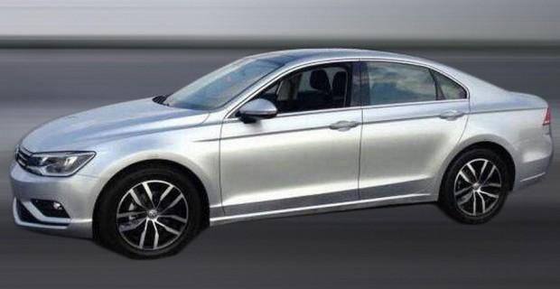 Volkswagen New Midsize Coupè captado en versión de producción