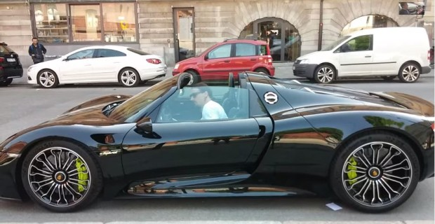 918 Spyder Zlatan Ibrahimovich
