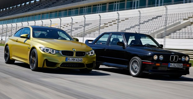 BMW M4 F82 - M3 E30