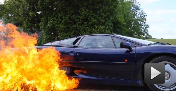 XJ220 Flames