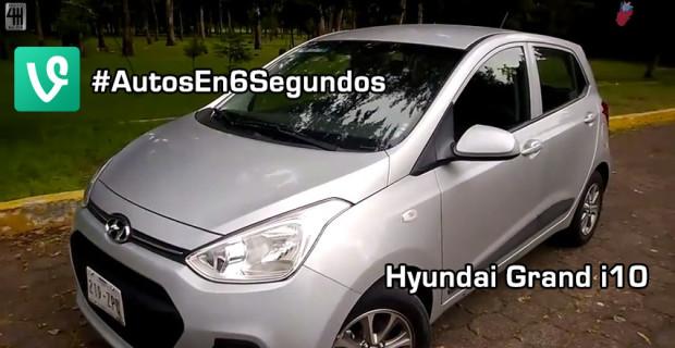 Autos en 6 segundos: Hyundai Grand i10