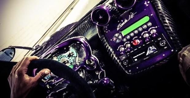 Así suena el Pagani Zonda 760 LH de Lewis Hamilton en el túnel de Monaco